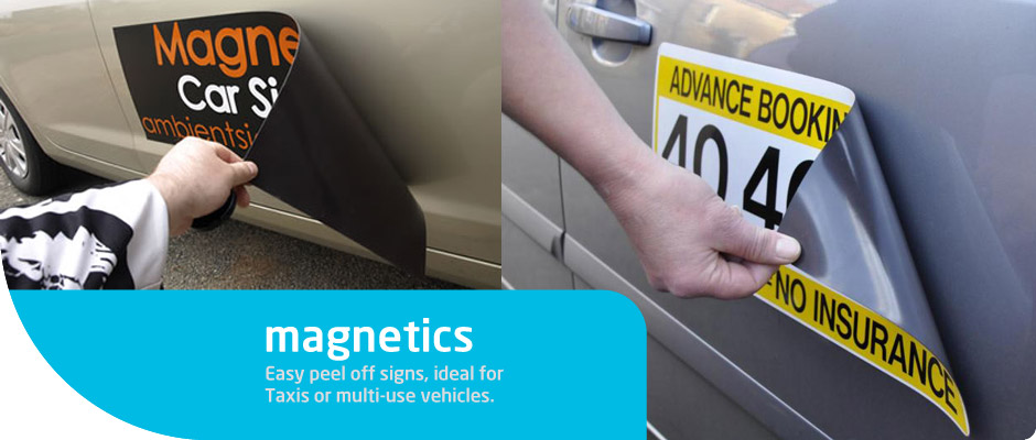 Magnetic Car Door Signs Near Me