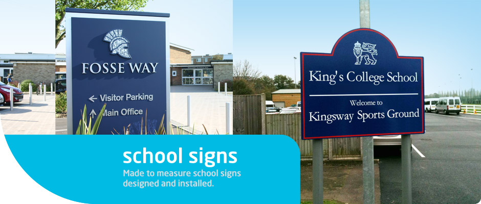 School Signs Angel Signs And Graphics